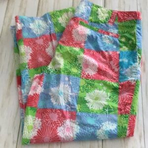 Lilly Pulitzer Patchwork Starfish Brights Capris